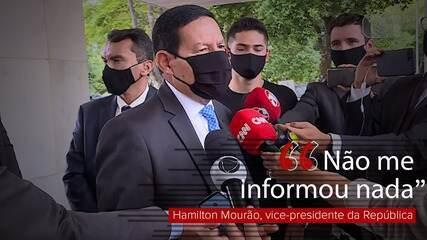 Mourão diz que conversará com Salles sobre Ibama: 'Não me informou nada'