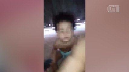 Vídeo mostra homem agredindo bebê