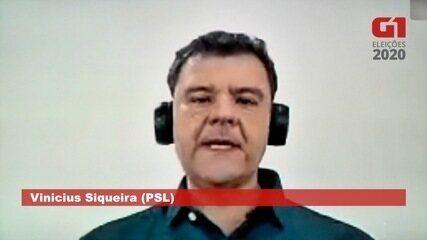 Vinicius Siqueira (PSL) fala sobre habitação em Campo Grande