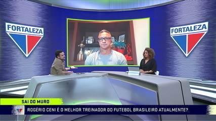 Sai do Muro: Comentaristas questionam se Rogério Ceni é o melhor treinador do futebol brasileiro atualmente