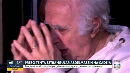 Preso tenta estrangular Roger Abdelmassih dentro de hospital penitenciário