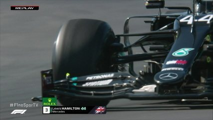 Hamilton reclama da vibração dos pneus em segundo treino do GP de Portugal