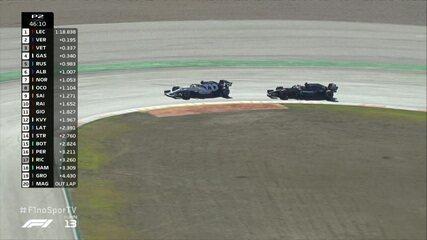 Hamilton é atrapalhado por Kvyat e Bottas faz o melhor tempo em segundo treino do GP de Portugal