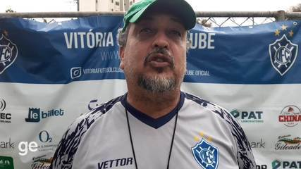 Charles de Almeida lamenta falta de sorte e acredita em virada do Vitória-ES na Série D