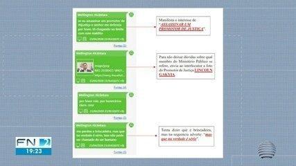 Mensagens indicam suposto envolvimento de advogado com facção criminosa