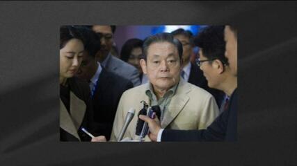 Morre presidente da Samsung, Lee Kun-Hee, aos 78 anos