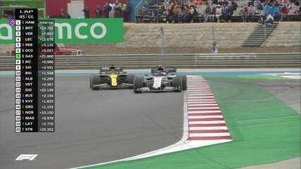 GP de Portugal: Gasly ultrapassa Ricciardo