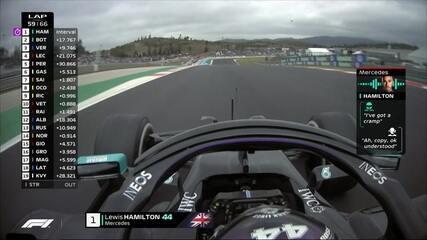 GP de Portugal: Hamilton reclama de cãibras durante a prova