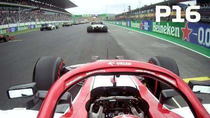 Confira a largada impressionante de Kimi Raikkonen no GP de Portugal
