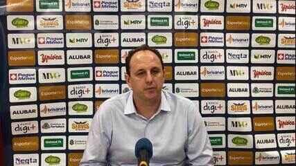 Fala, professor: confira coletiva de Ceni após eliminação do Fortaleza na Copa do Brasil