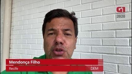 Mendonça Filho (DEM) explica como pretende combater a corrupção no Recife