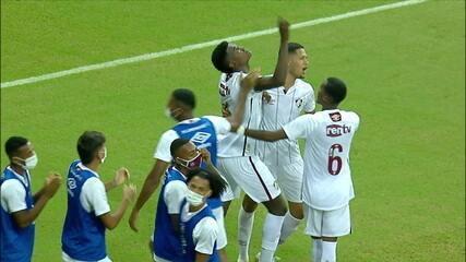 Os gols de Sport 0 x 2 Fluminense pela 8ª rodada do Campeonato Brasileiro Sub-20
