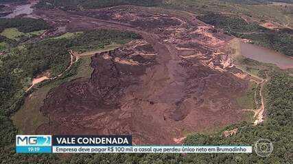 Vale é condenada a pagar indenização a casal que perdeu neto, no desastre em Brumadinho