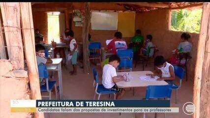Candidatas à prefeitura de Teresina apresentam planos de investimentos para professores