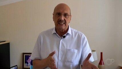 Candidato Ricardo Barbará fala sobre propostas para transporte público em Itapetininga