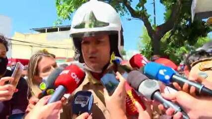 'Hospital não possui certificado de aprovação do Corpo de Bombeiros', diz comandante-geral