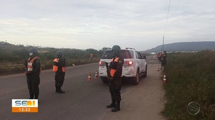 Militares do 28º Batalhão de Caçadores realizam operação no município de Itabaiana