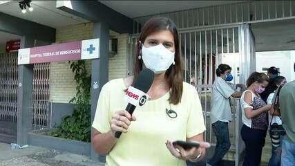 Dois pacientes morrem durante incêndio em hospital do Rio de Janeiro