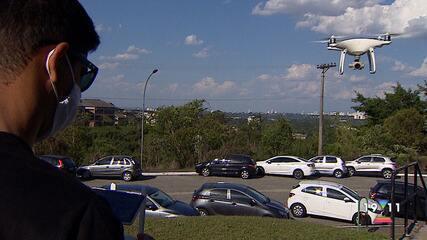 Polícia Federal vai usar drones para fiscalizar boca de urna nas eleições