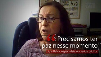 Chegada do Ministério da Economia na saúde é uma coisa preocupante, diz Ligia Bahia