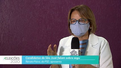 Candidata Renata Paiva (PDS) fala sobre a segurança para cidade de São José