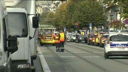 Pelo menos duas pessoas morrem durante ataque na basílica de Nice, na França
