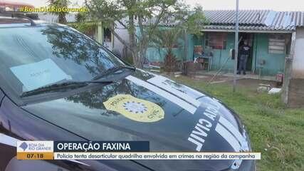 Polícia desarticula quadrilha envolvida em crimes na região da campanha do RS