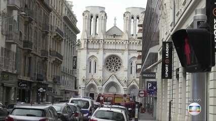 Ataque a faca deixa mortos e feridos na Basílica de Nice, na França