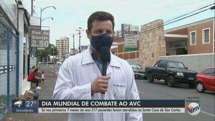 Dia Mundial de Combate ao AVC: Santa Casa de São Carlos atendeu 217 pacientes em 7 meses