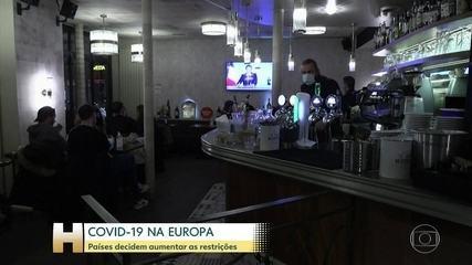 Covid-19 avança na Europa