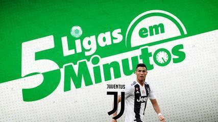 5 ligas em 5 minutos: Juventus à espera de CR7 e rivalidade histórica na Inglaterra