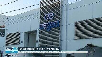 Aegea firma acordo milionário para ressarcir Daerp e Prefeitura de Ribeirão Preto
