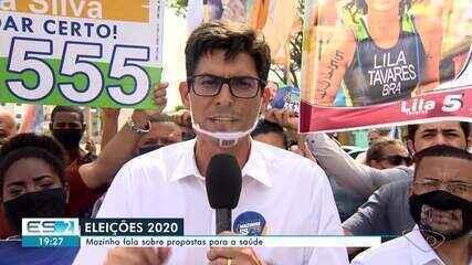Mazinho diz que quer fazer parceria com setor privado para zerar fila da saúde em Vitória