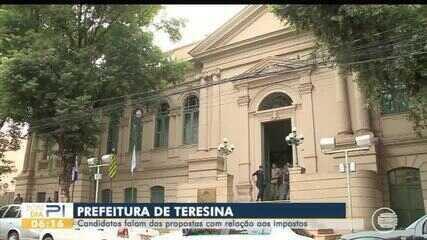 Candidatos a prefeito de Teresina falam sobre planos para arrecadação de impostos