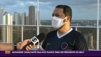 Alexandre Cavalcanti fala dos planos para ser presidente do Botafogo-PB