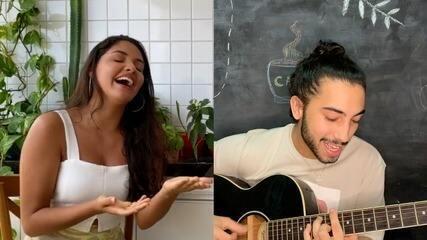 Música com Cleane Sampaio e Gabriel Nogueira, os cearenses do The Voice Brasil 2020