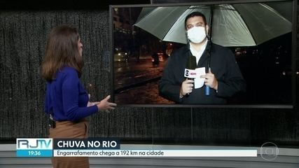 Sexta-feira de chuva forte no Rio