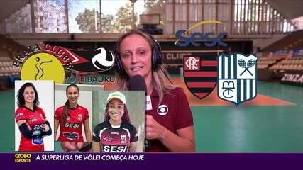Superliga de Vôlei começa neste sábado com cobertura dos Canais Globo