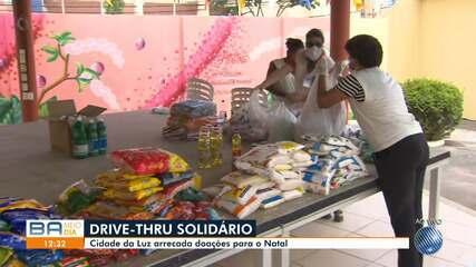 Instituição 'Cidade da Luz' promove drive thru solidário para arrecadar donativos