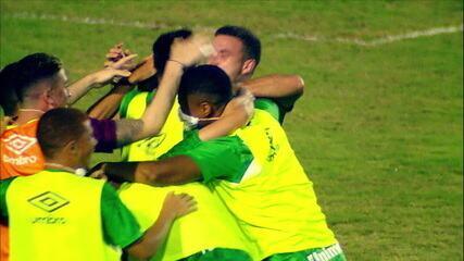 Melhores momentos: Confiança 0 x 2 Chapecoense, pela 19ª rodada do Brasileirão Série B