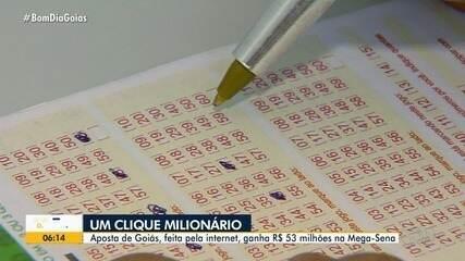 Aposta de Goiânia que levou R$ 53 milhões atiça curiosidade dos moradores