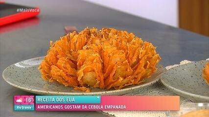 Ana Maria Braga ensina a fazer cebola empanada