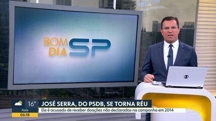 José Serra, do PSDB, se torna réu por suspeita de caixa 2, corrupção e lavagem de dinheiro