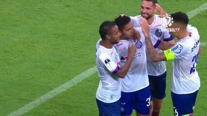 Os gols de Bahia 4 x 0 Melgar pela Copa Sul-Americana