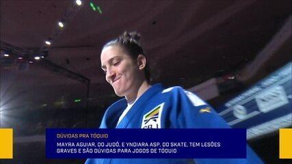 Lesões e casos de doping geram incertezas para o Brasil na Olimpíada