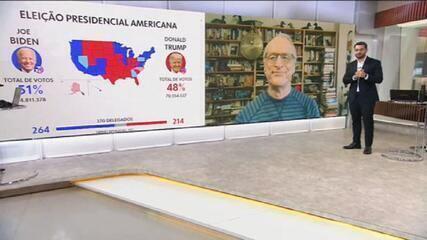 Jorge Pontual analisa os motivos para Biden liderar na Geórgia, tradicionalmente republicano