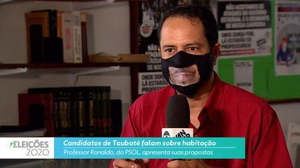 Professor Ronaldo (Psol) diz o que pretende fazer na habitação