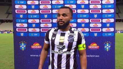 """Samuel Xavier fala sobre empate sem gols com o Sport: """"Faltou aquela última bola"""""""