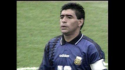 Maradona retira hematoma do cérebro e segue internado