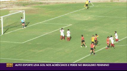 UDA vence o Auto Esporte, com gol nos acréscimos, no Brasileiro Feminino Série A2